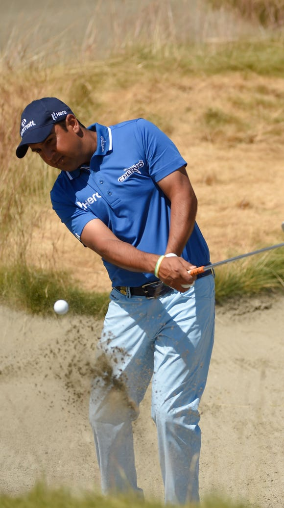 Shiv Kapur, shown here at the 2015 U.S. Open, is set