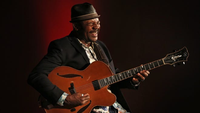 Bobby Broom performs during Saturday's Wes Montgomery Tribute Day at Indy Jazz Fest.