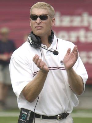 University of Montana head football coach Bobby Hauck.