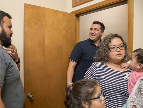 DACA recipient Carlos Mundo, 31, and his sister Claudia