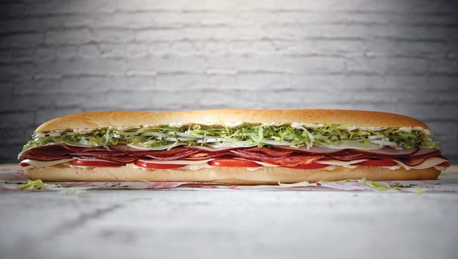 Jimmy John's has expanded its menu with new 16-inch sandwiches.