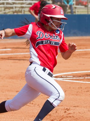 The hot-hitting Dixie State softball team is off to one of its best starts in program history. The Trailblazers already have 14 home runs on the year.
