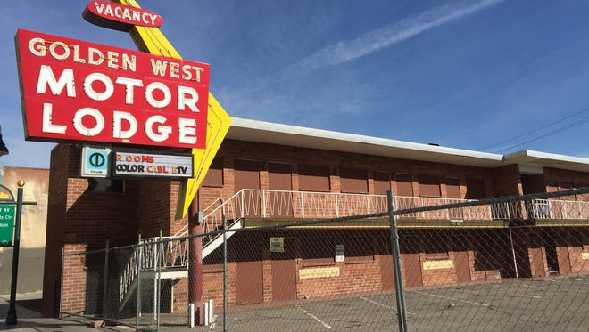 The vacant Golden West Motor Lodge in downtown Reno could be the first building demolished through the city's new blight fund.