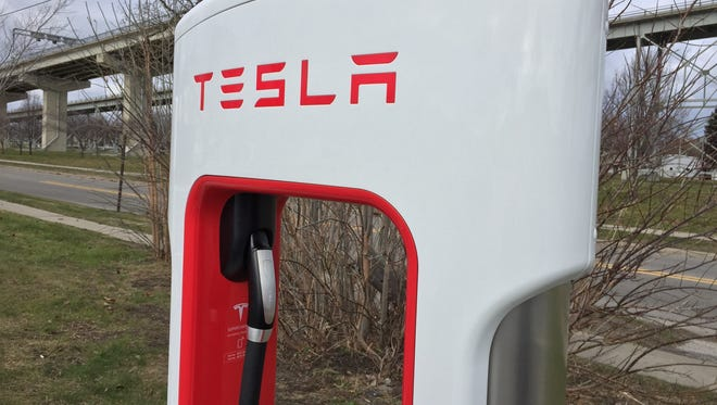 Tesla electric vehicle charging stations are already installed in Port Huron at the Blue Water Convention Center. Now, Port Huron officials are considering working with other companies for stations downtown.