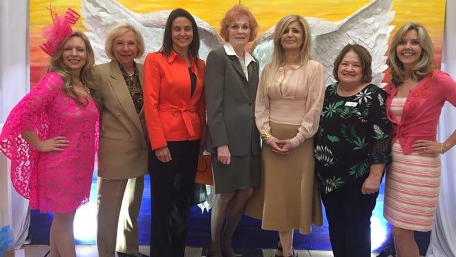 Cari Sudmeier, Dr. Amy Harrison, Dr. Amanda Curmock, Ann Mostoli, Dr. Sheba Heidarian, Kathy McAdara, Dr. Lisa Lindley