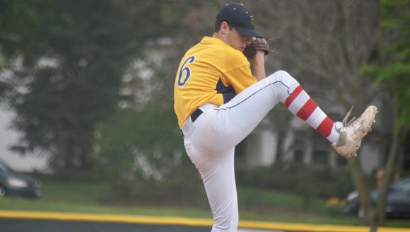 Senior Max Carver has a 5-1 record and 1.13 earned-run