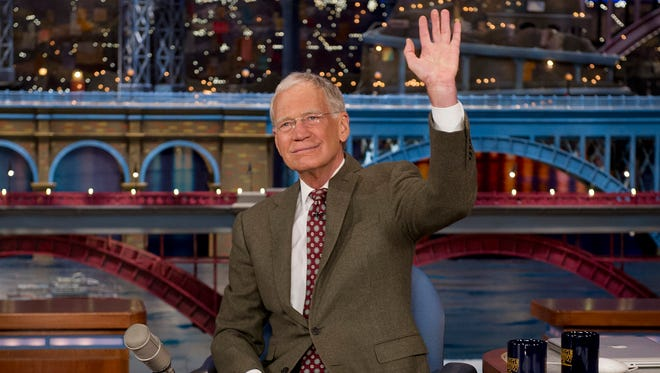 David Letterman's last show is on May 20.
