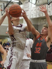 Seaholm senior Cooper Mixon (13) averaged 19 points