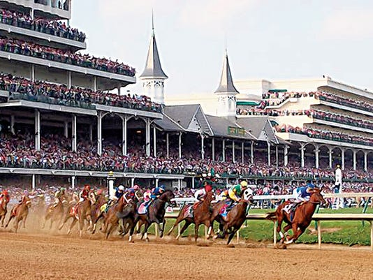 Courtesy   The Kentucky Derby will be broadcast at several area establishments. Join in the fun and arrive early for a good seat. Race begins at 4:24 p.m., Saturday.