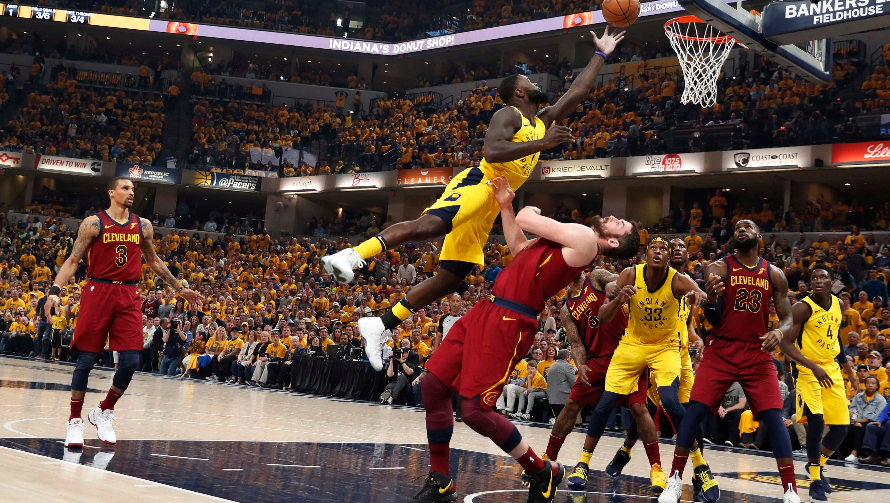 Why LeBron James, Cavs are in trouble after Game 3 loss to Pacers