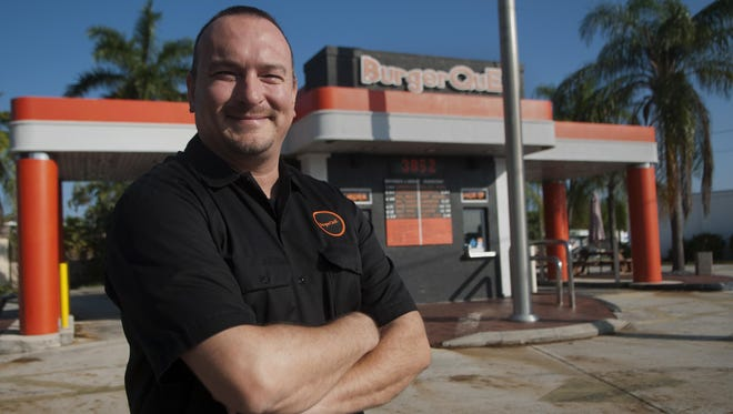 Tim Mankin opened BurgerQue in 2011, bringing stability to this ever-changing drive thru in Fort Myers.