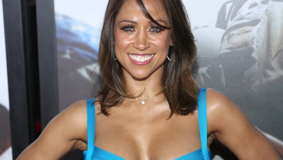 "Actress Stacey Dash arrives at the ""American Sniper"""