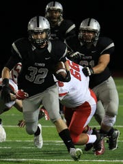 One of Plymouth's key players entering Friday's pre-district
