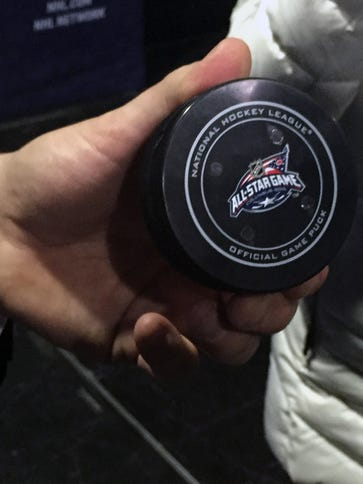 Sportvision has created a puck with infrared emitters