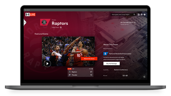The upcoming Bleacher Report Live streaming service