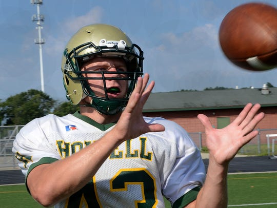 Logan Ward, who also plays tight end, shared Howell's