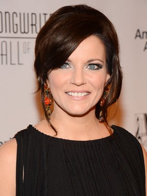 Country singer Martina McBride is 48.