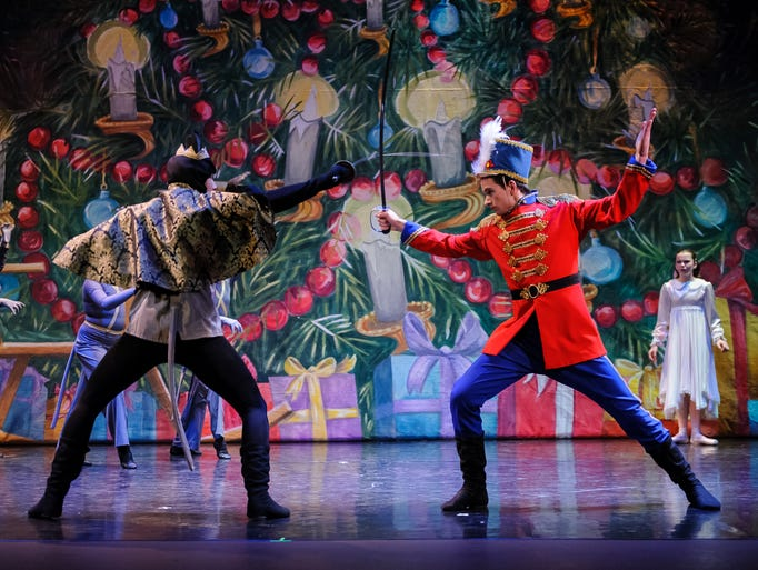 Scenes from Springfield Ballet's 'The Nutcracker'
