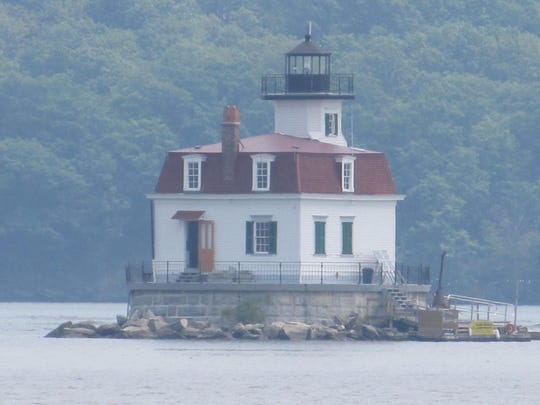 The Esopus Meadows Lighthouse is the only wooden lighthouse remaining on the Hudson River.