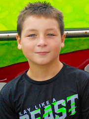 Carter Armeros, 10, of Lee County died last year while