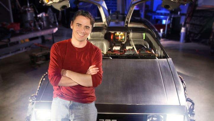 Great Scott! Wisconsin native documented restoration of 'Back to the Future' DeLorean
