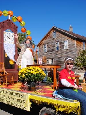 Amana Oktoberfest is this weekend, Sept. 30-Oct. 2, in the Amana Colonies. Last year's celebration was 50 years since the first Oktoberfest, and one of the floats in the parade commemorated fine furniture made in the Colonies.