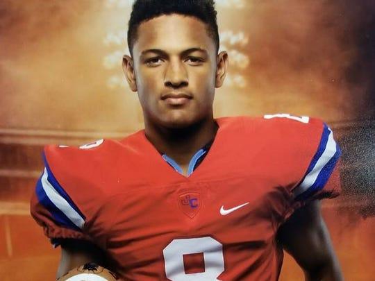 Brandon Davis, a cornerback from John Curtis Christian School in River Ridge, La., is a 2018 Tennessee football signee.
