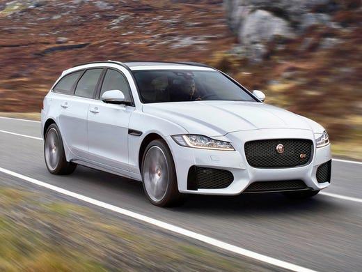 Review 2018 Jaguar Sportbrake Makes Station Wagons Cool Again
