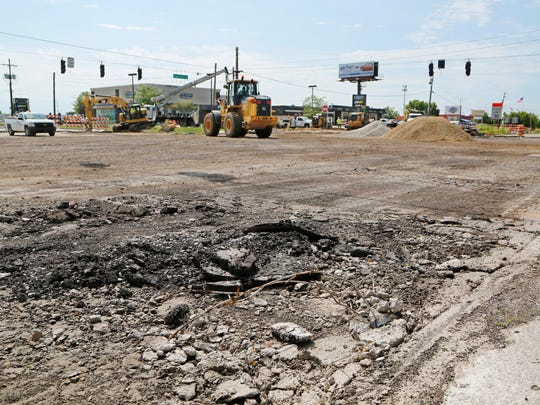 The intersection of South Street and Sagamore Parkway is closed until this summer.