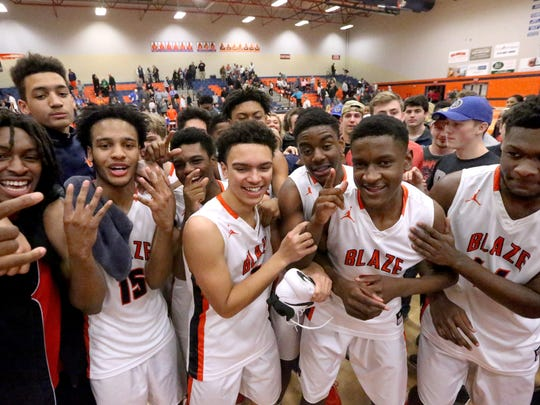 Blackman is the state's only undefeated team.