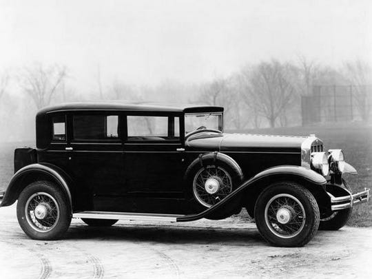 The 1929 Franklin automobile.