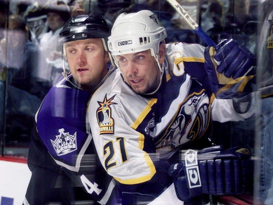 Nashville Predators vs Los Angeles Kings Hockey