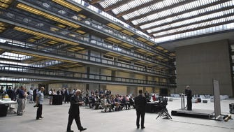 The atrium of the former Bell Labs building in Holmdel, now called Bell Works.