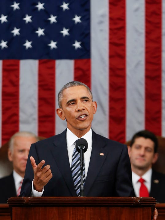 AP OBAMA STATE OF UNION A USA DC