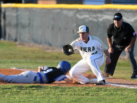High School Baseball: Sebastian River at Viera