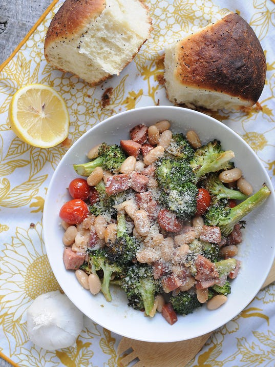 Broccoli Bean Skillet