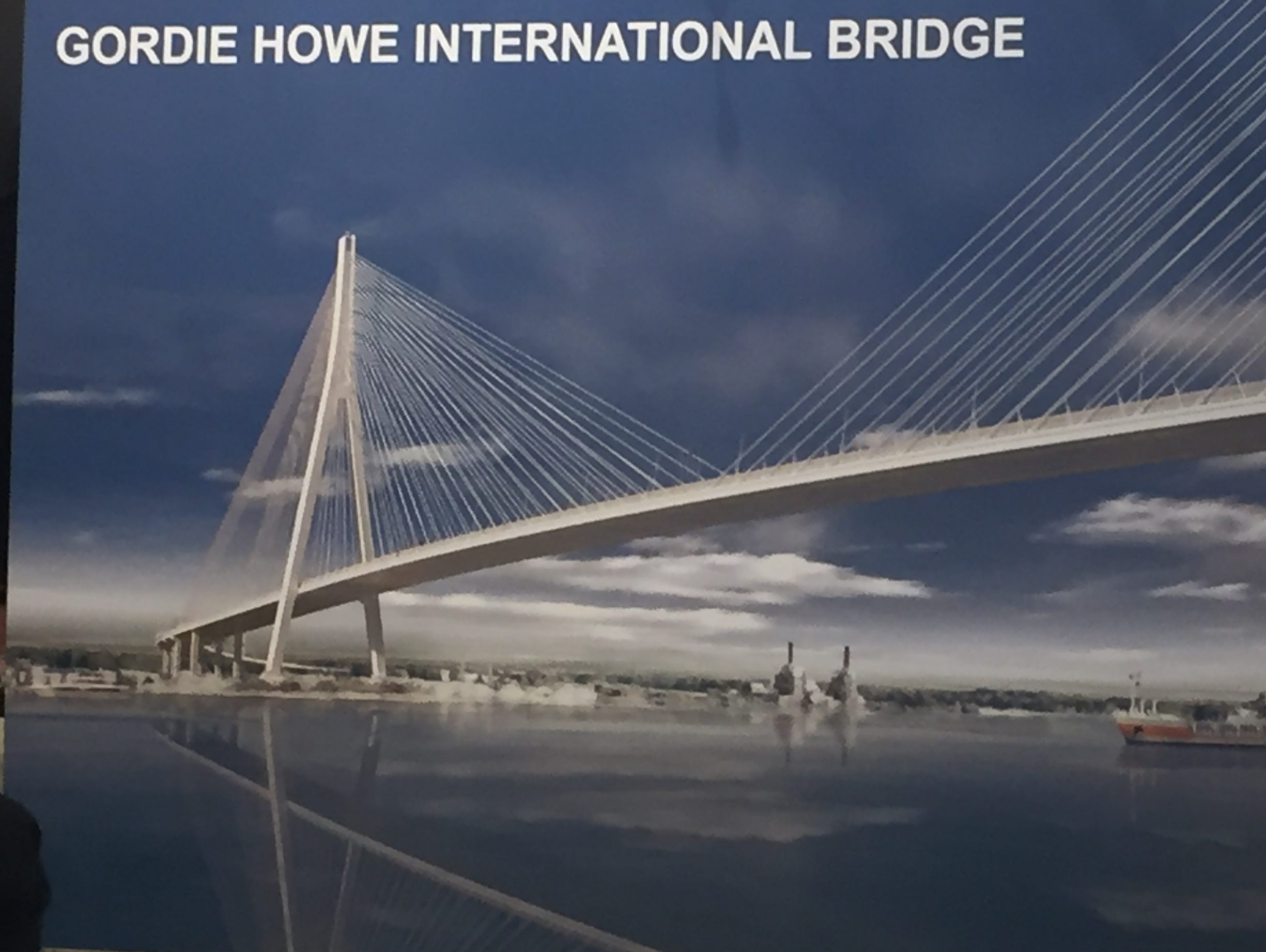 Canadian World Breaking News And Worthy Hidden Wiring Inwall Cable Concealment Mississauga Toronto Oakville Detroit Free Press Bridging North America Chosen To Build The Gordie Howe Bridge
