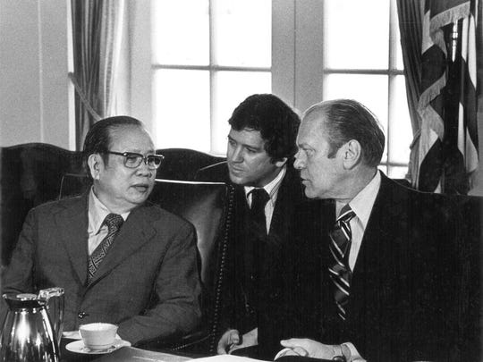 Interpreter for President Ford with Vietnamese Delegation right before the f.jpg