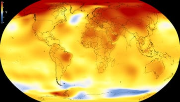 Global warming roars on: Past four years have been Earth's hottest on record