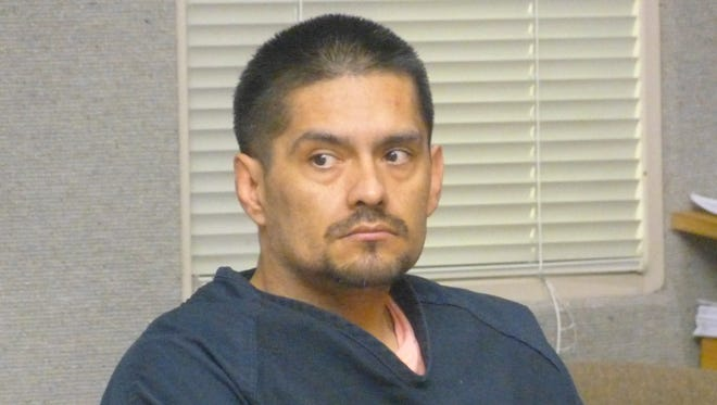 Juan Manuel Venegas, shown Friday in Shasta County Superior Court, is ready to begin standing trial for the second time this year in the burning death of a Burney man.