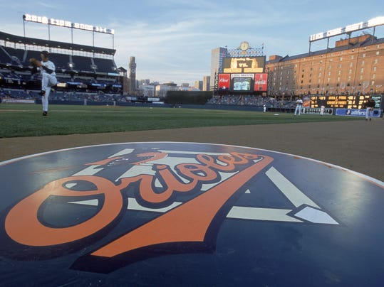 View of On Deck Circle for Orioles