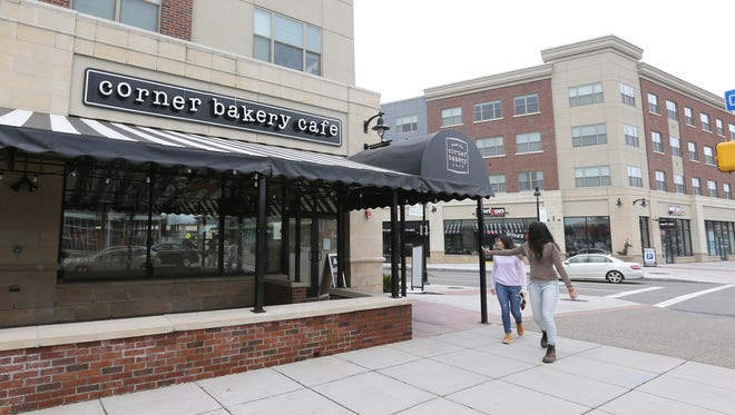 The Corner Bakery Cafe closed in College Town in March.