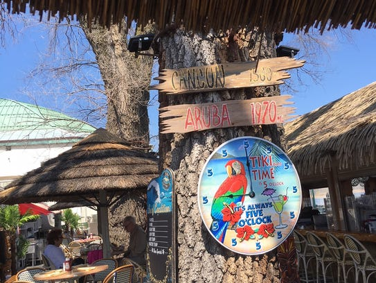 The Pier Restaurant & Tiki Bar is open on the Rye Playland