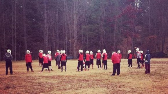 Franklin held a Thanksgiving football practice on Thursday.