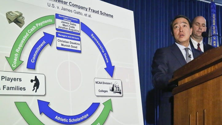 Who is Christian Dawkins, linchpin in FBI probe of top basketball programs?