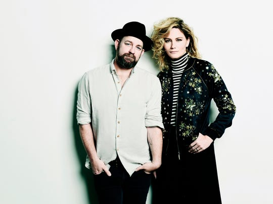Kristian Bush and Jennifer Nettles of Sugarland took