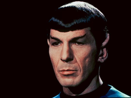 Leonard Nimoy played the character of Spock in the