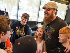 Young rockers rollin' at Rock Camp