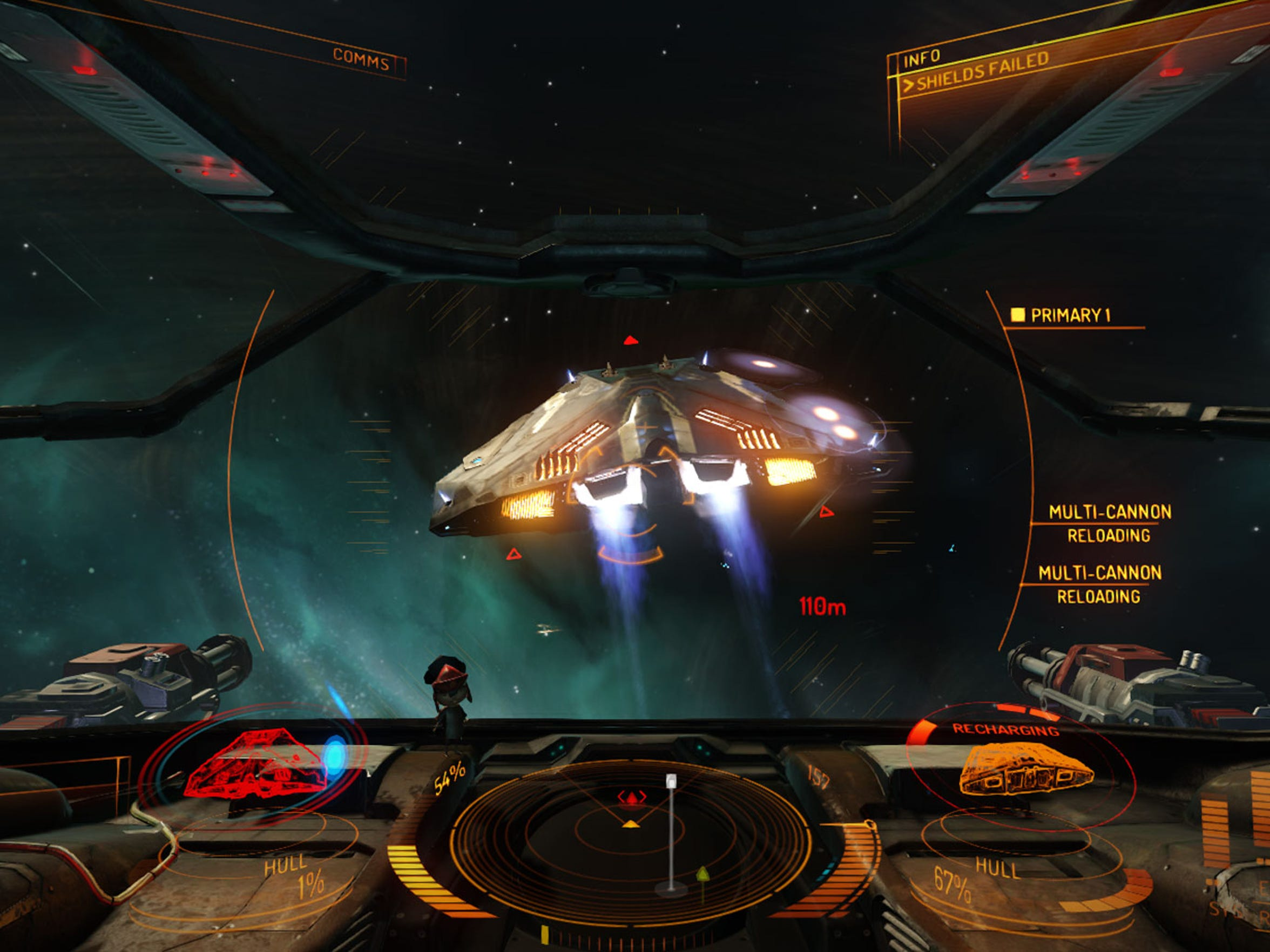 "Combat in ""Elite Dangerous"" is fun once you get your"