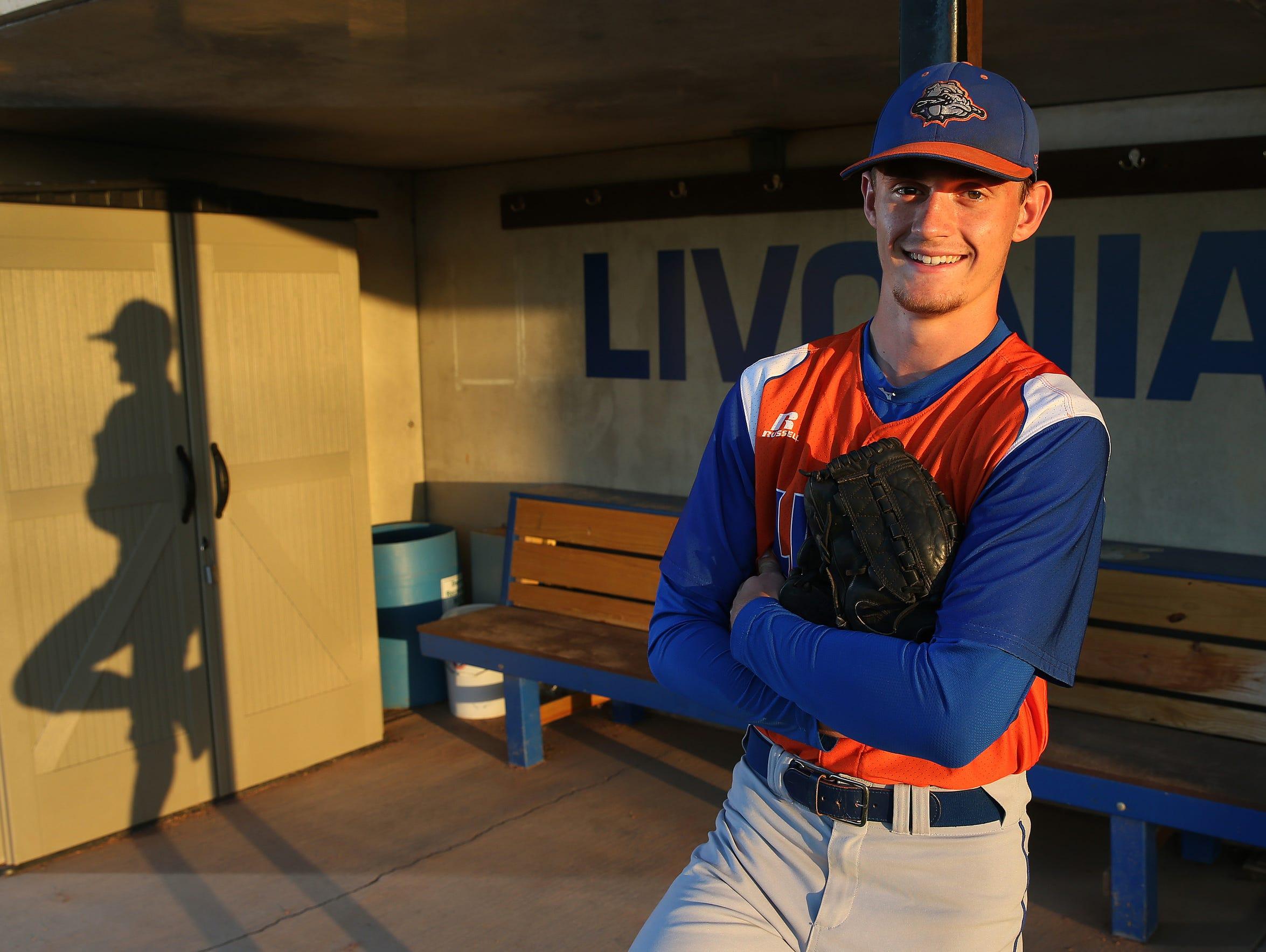 Reid Vanscoter, 2017 All-Greater Rochester Baseball